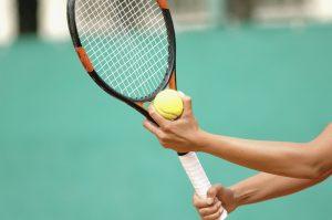 Gespecialiseerde sportmassage bij tennissers